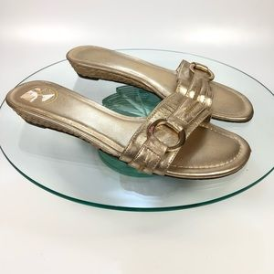 LILLY PULITZER Slide Sandals 7 Slip On